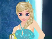 Elsa Dress Up for School